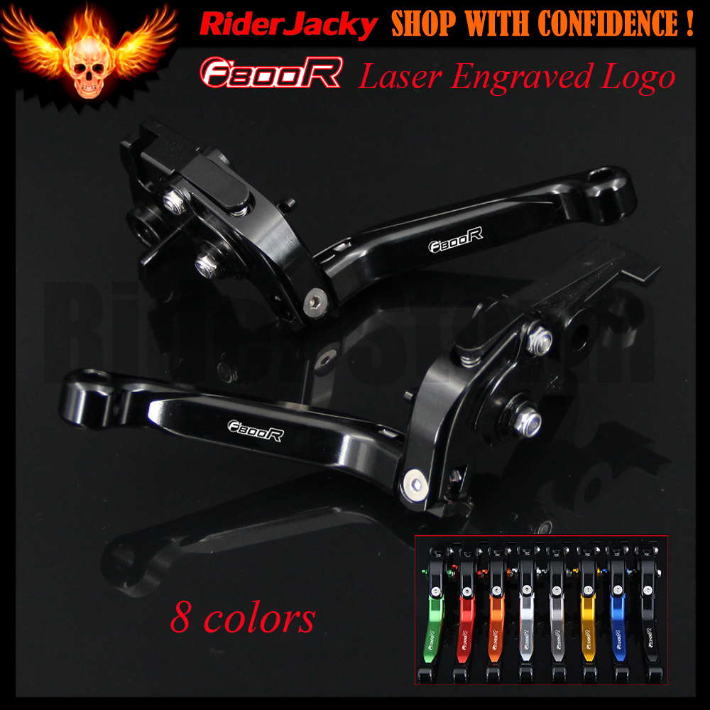 For BMW F800R F800 R 2009-2017 2011 2012 2013 2014 2015 2016 Full Black Motorcycle CNC Adjustable Extendable Brake Clutch Levers full black motorcycle cnc adjustable extendable brake clutch levers for bmw g650gs g650 gs 2008 2014 2009 2010 2011 2012 2013