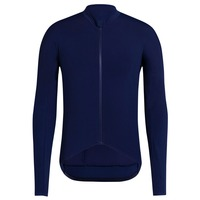 spexcel 2018 Navy Pro team Autumn Winter Thermal fleece long sleeve cycling jersey road bicycle clothing race fit cycling gear