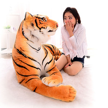 30cm Plush font b toys b font large dolls birthday gift simulation Northeast Tigers personality crate