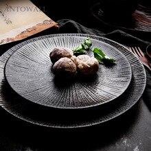 Giapponese Retro tazza di Ceramica Da Tavola Personalità Frecce Cappello di  Paglia Piatto Occidentale Piatto di b1e8ffd8dd2d