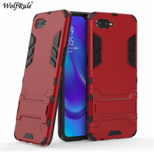 Wolfrule Cover Oppo RX17 Neo Case 6.4 Silicone Rubber Robot Armor Hard PC Back Phone For RX 17 CPH1893