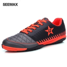Men's Outdoor Sneakers Soccer Cleats TF Turf Rubber Sole Training Soccer Shoes Boys Top Football Boots Women's Football Shoes