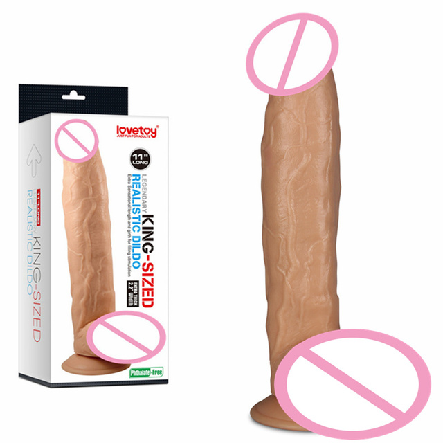 Plus size dildo model #9