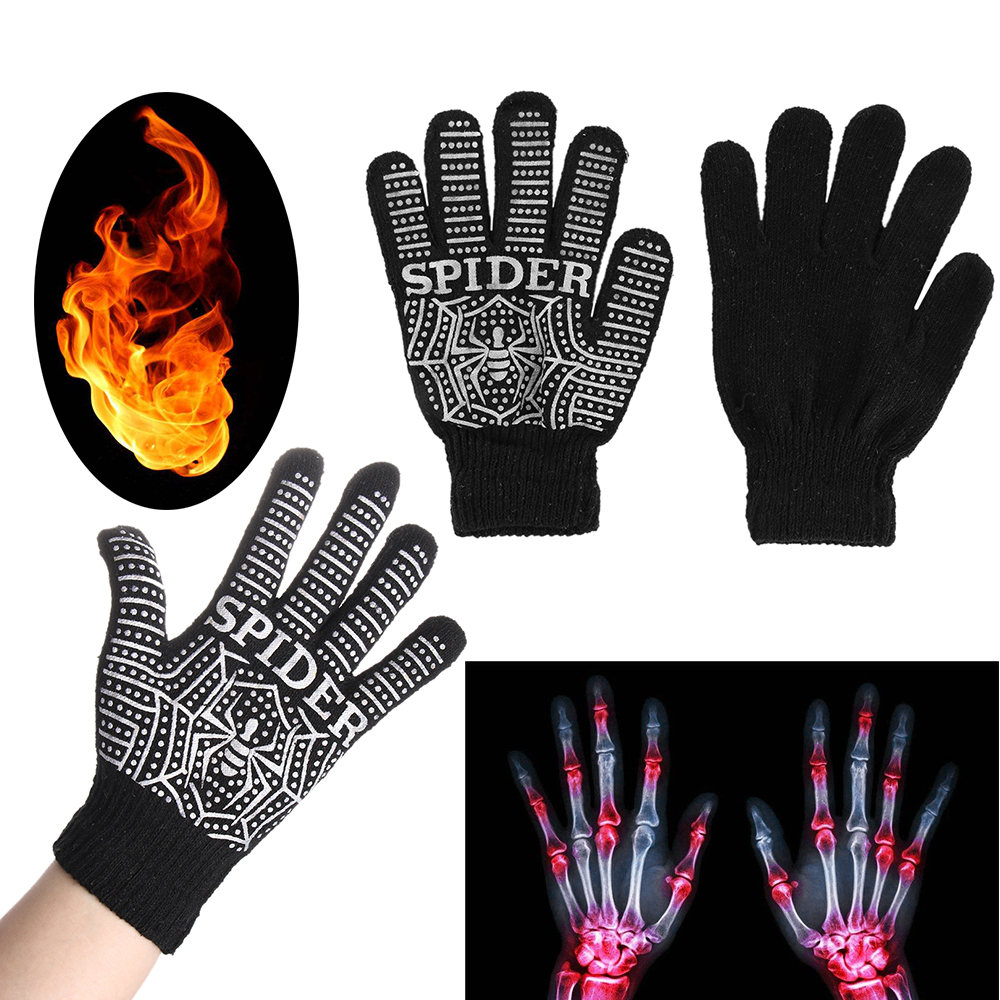1Pair Effective Arthritis Joints Braces Self Heating Gloves Tourmaline Rheumatoid Pain Relief Magnetic Therapy Hand Caring