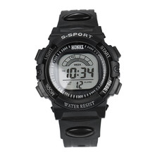2017 New font b Mens b font LED Digital Date Alarm Waterproof Sports Army Quartz font