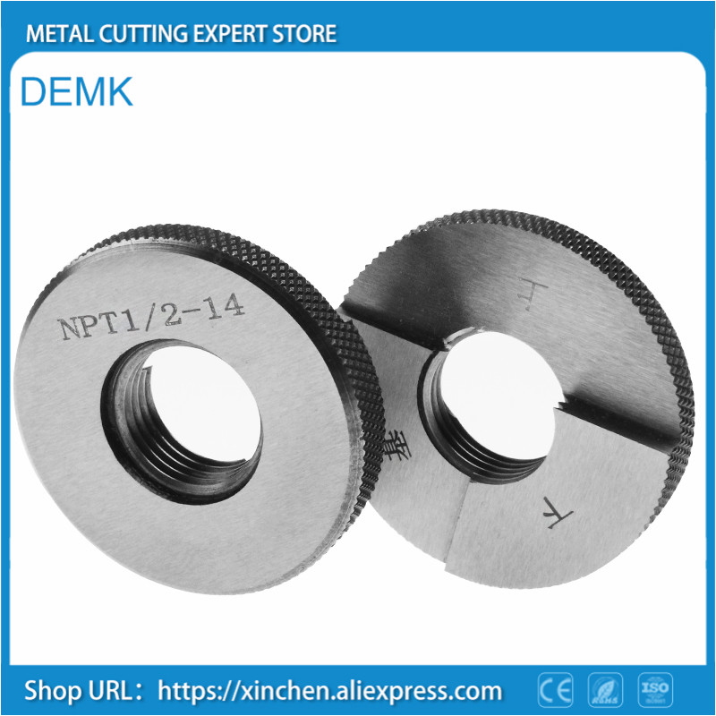 High precision Thread Ring gauge NPT pipe thread Ring gauge Precision External Screw Gage Fine Pitch