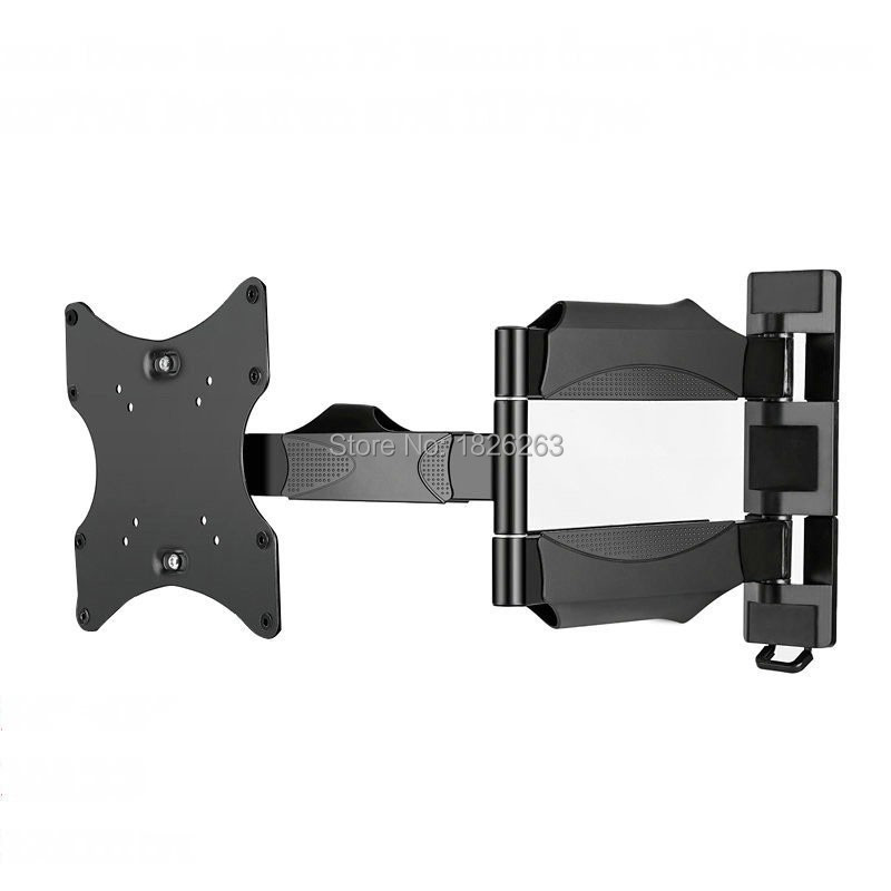 180 Degree Swivel Full Motion 26 50 Lcd Led Tv Wall Mount Bracket Arm Max Loading 45kgs Vesa 400x400mm In From Consumer Electronics On