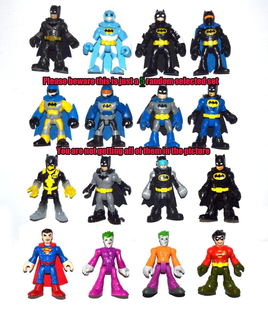 "LOT OF 2  DC Direct Batman  Series the joker Action Figure 6/"" loose"