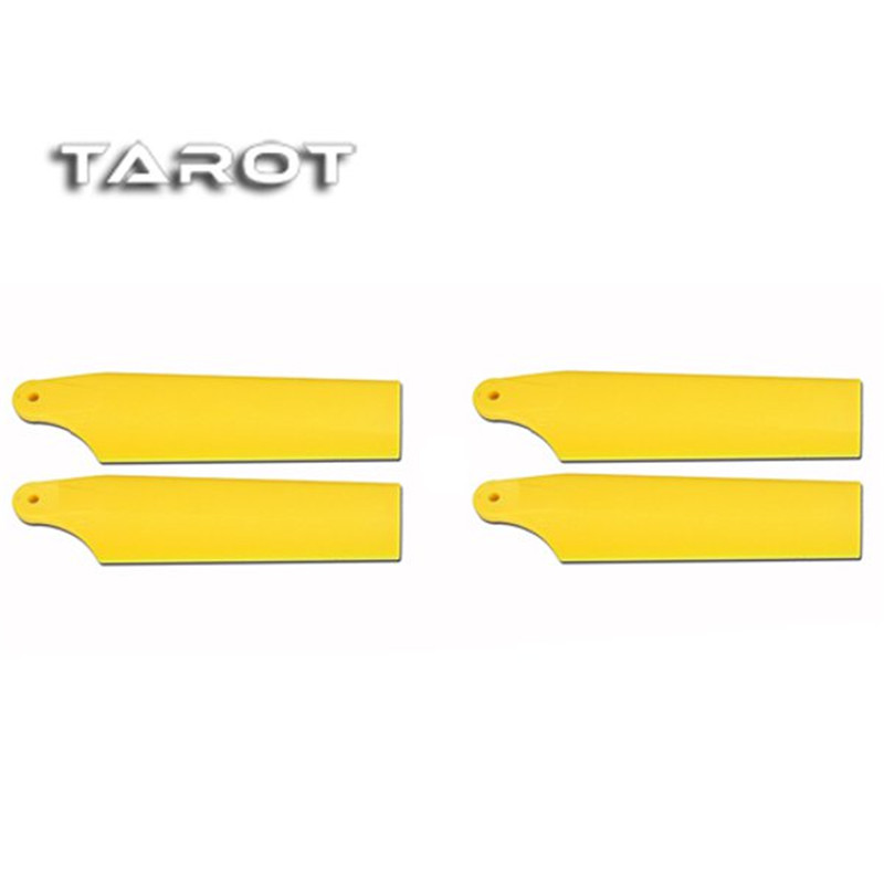 Tarot 450 New type Lengthen Tail Blade Yellow TL48035-01 For RC Helicopter Parts Toy Models Accessories Accs