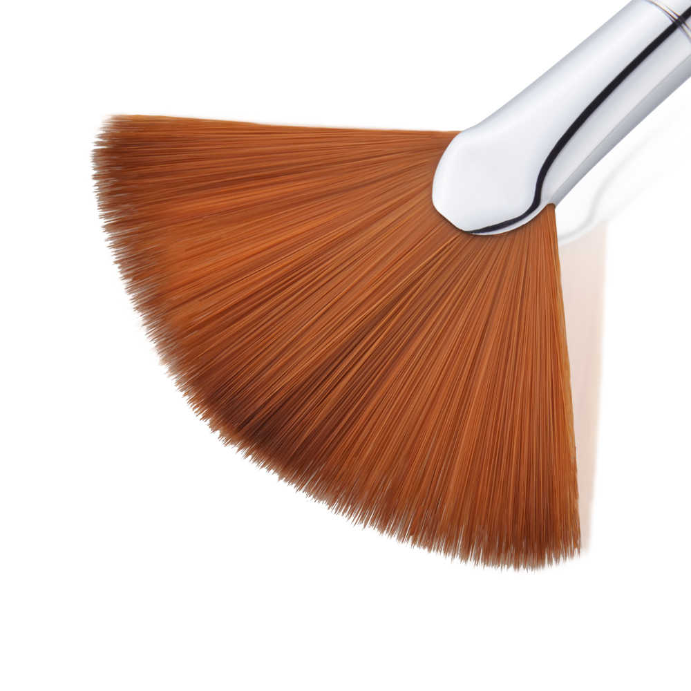 8afa9e3e ... New Jessup brush Makeup brushes Cosmetic Wholesale Make up brush  Synthetic Hair Makeup Tool Highlighter FAN ...