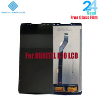 For 100% Original OUKITEL K10 LCD Display +Touch Screen Screen Digitizer Assembly Replacement 6.0 inch For New OUKITEL K10 LCD