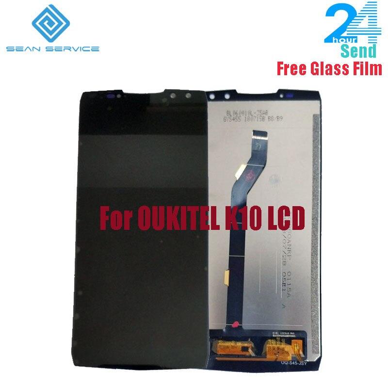 Para 100% Original OUKITEL K10 Display LCD + Montagem Digitador Da Tela de Substituição da Tela de Toque de 6.0 polegada Para Nova OUKITEL K10 LCD