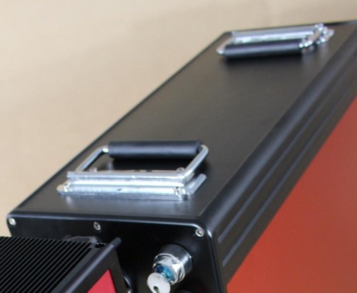 Mini macchina per marcatura laser compatta ad alta precisione, - Attrezzature per la lavorazione del legno - Fotografia 5