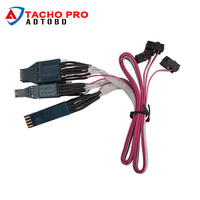 2017 A Set of NO. 42 Cable EEPROM DIP-8CON NO. 43 Cable EEPROM SOIC-14CON NO.44 Cable EEPROM SOIC-8CON for Jan Version Tacho Pro