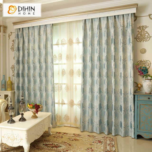 Inspirational DIHIN 1 PC Luxury Modern Curtains for the Bedroom Elegant Window Curtains for Living Room Blinds For Your Plan - Simple ready made curtains Plan