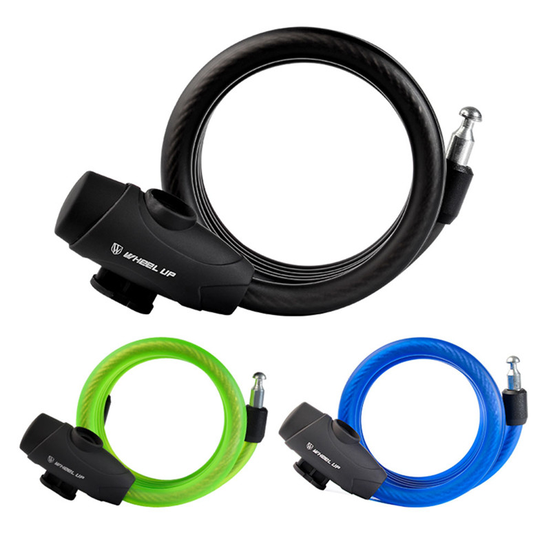 1.8m Motorcycle Bike Bicycle Cycling Security Portable Chain Cable Key Lock New