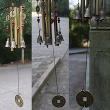 Outdoor Wind Chimes Antique Garden Copper Feng Shui Wind Chimes