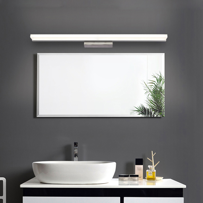 Mdern led wall lamps for Toilet Bathroom Mirror light High-quality hardware led strip Mirror cabinet light AC 90-260V acrylic a0 crystal wall mounte led high bright super slim advertising light box magic mirror acrylic lightboxes led sign