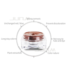 Classical Permanent Makeup Paste Tattoo Eyebrow Pigment Brown  Dark Coffee Black Coffee Green Coffee Brown Coffee &Yellow Color