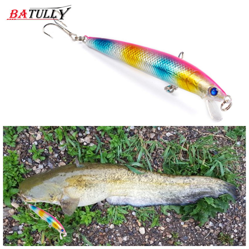 BATULLY New JERKBAIT Professional Quality Fishing Lure 95mm 8.5g Suspend Wobbler Minnow Depth 2-3m Bass Pike Bait MUSTAD Hooks allblue mihawk 110sf jerkbait fishing lure 110mm 14 1g slow floating wobbler minnow bass pike bait fishing tackle mustad hooks