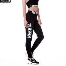 NEBBIA для женщин Йога эластичные брюки с высокой посадкой Фитнес Спорт Леггинсы для колготки новорождённых тонкий Спортивная одежда для бега