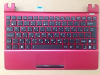 New Laptop Keyboard For Asus EeePC SeaShell X101 X101H X101CH Black Keys With Mei Red C