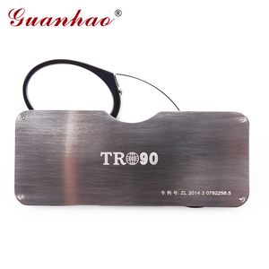 Image 4 - Guanhao Magnetic Reading Glasses With Case Nose Clip Round Optical Frame Diopter Prescription Eyewear Men Women Portable Glasses