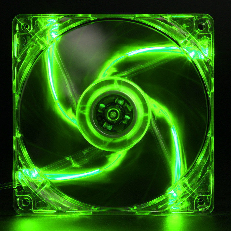 Centechia Hot-sale 120mm 4 Pin Computer CPU Cooling Fan Green Quad 4-LED Light Neon Clear 120mm PC Computer Case Cooling Fan Mod mecall 8cm computer pc clear case quad cpu cooling fan
