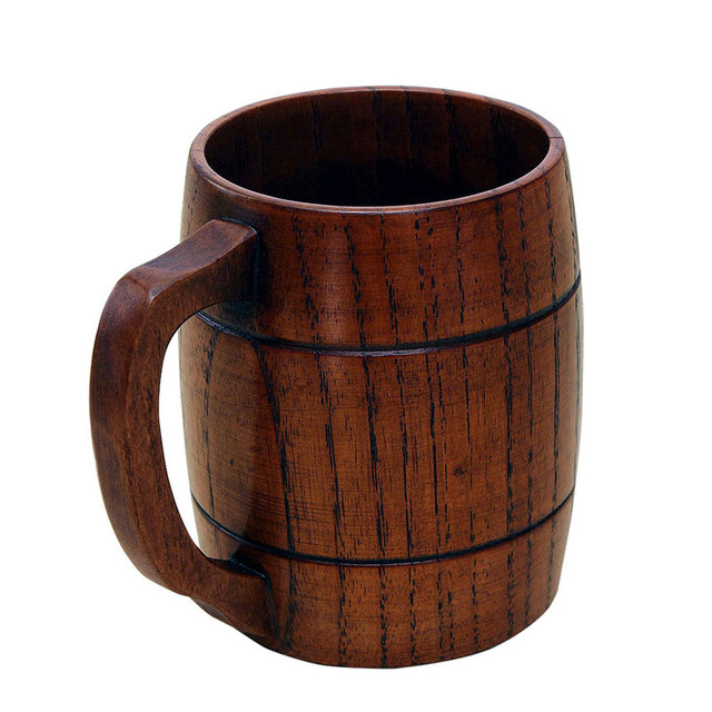 10086 руб 38 скидкабольшой экологичный 400 мл классическая деревянная пива чай кофе чашки кружки бутылку воды теплозащитные офис вечерние
