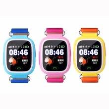 เด็กยอดนิยม/เด็กgps smart watchน่ารักนาฬิกาข้อมืออิเล็กทรอนิกส์เรียลไทม์สถานที่ตั้ง/แชทด้วยเสียง/sosภาษาอังกฤษ