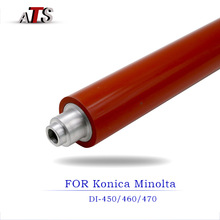 Fusing Lower Fuser Roller Pressure roller For Konica Minolta bizhub DI 460 470 450 550 compatible Copier DI460 DI470 DI450 DI550 free ship copier part irc5180 irc4080 lower fuser film fm3 0690 000 long life irc4080 4580 5180