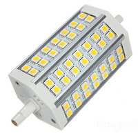 FSLH R7S J118 10w LED Dimmable Warm White Colour Replacement For Halogen Bulb 42 SMD 5050