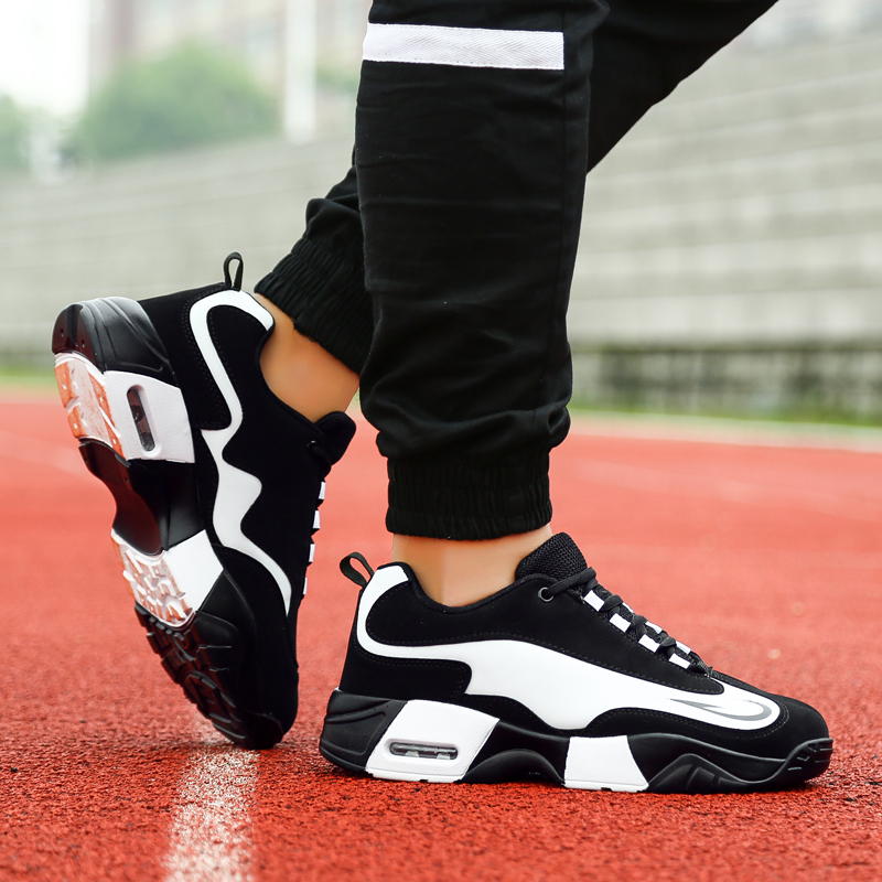 7a6b1fb272 Men Platform Sneakers Fashion Air Cushion Mens Shoes Mixed Colors Male  Casual Shoes Breathable Mesh Inside Sports Shoes Man H992-in Men's Casual  Shoes from ...