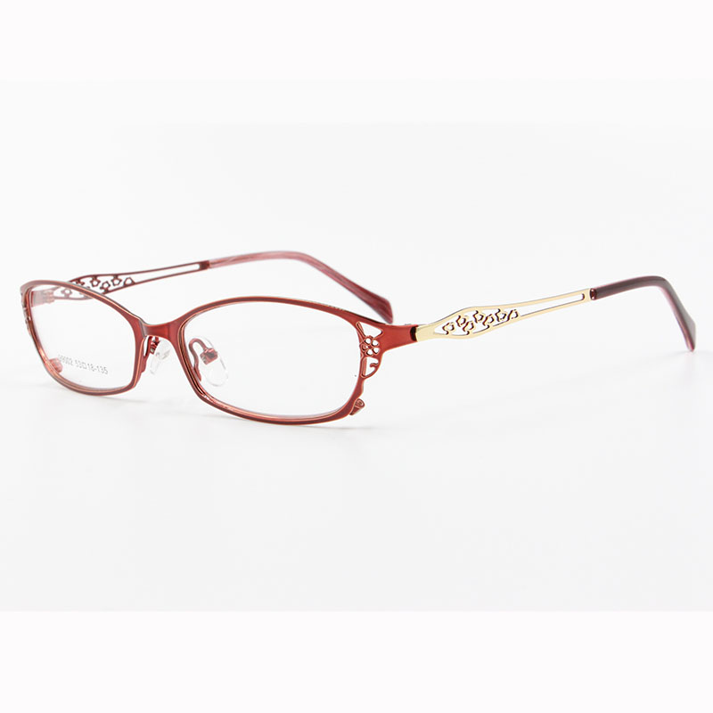 BCLEAR High-grade women spectacle frame metal alloy eyeglasses frame half frame glasses frame female optical eyeglasses S99002