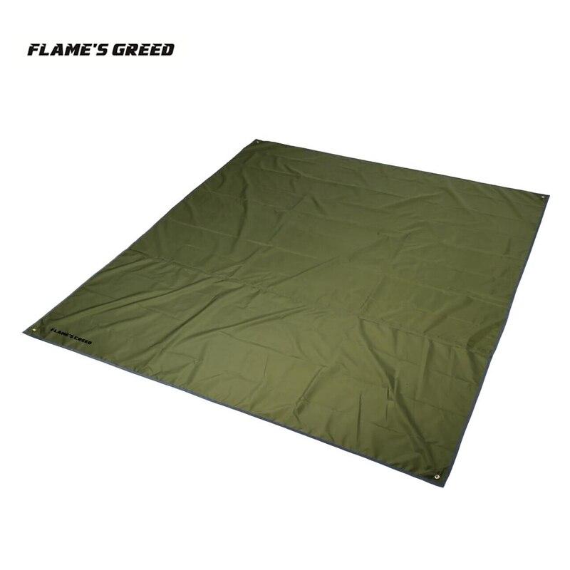 3 mt x 3 mt 4 mt x 3 mt Silber Beschichtung Anti UV Garten Ultraleicht Sun Shelter Strand Zelt pergola Markise Baldachin Plane Camping Matte Schatten
