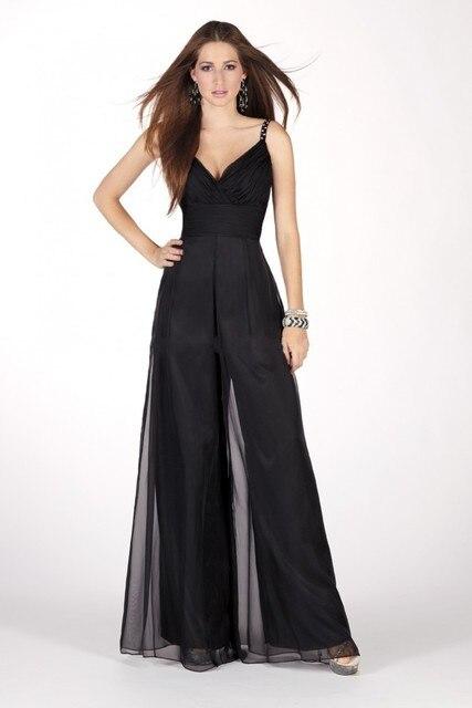 Vestimenta formal de noche mujer