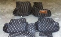 Special RHD Right Hand Drive Car Floor Mats For VW Tiguan Wholy Surrounded Five Seats Tasteless