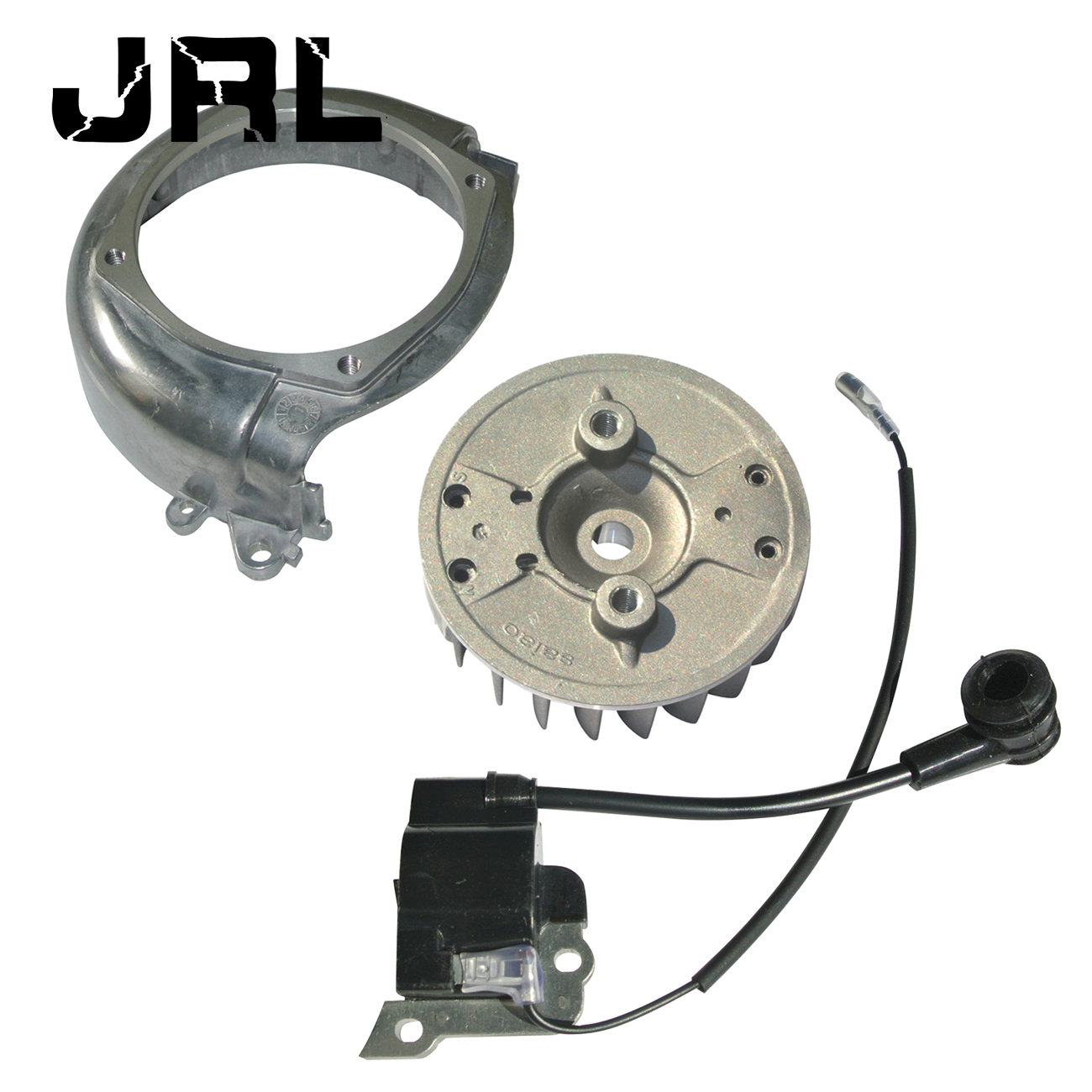 New Ignition Coil & Flywheel & Flywheel Cover Fit Honda GX35 Motor Spare Part