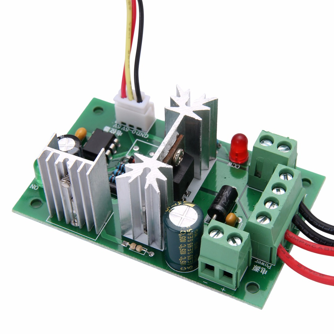 1pc Mayitr 6 30v Dc Motor Speed Controller With Reversible Pwm For The Power Circuit Of A Forward Reverse Electric Switch