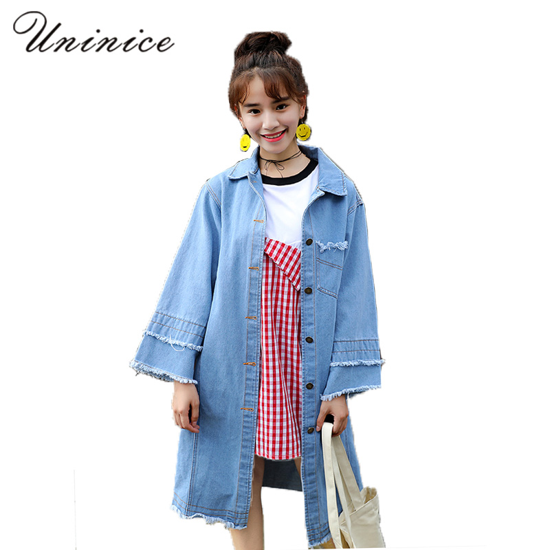 Aliexpress.com : Buy 2017 Autumn Denim Jacket Women Contrast Color ...