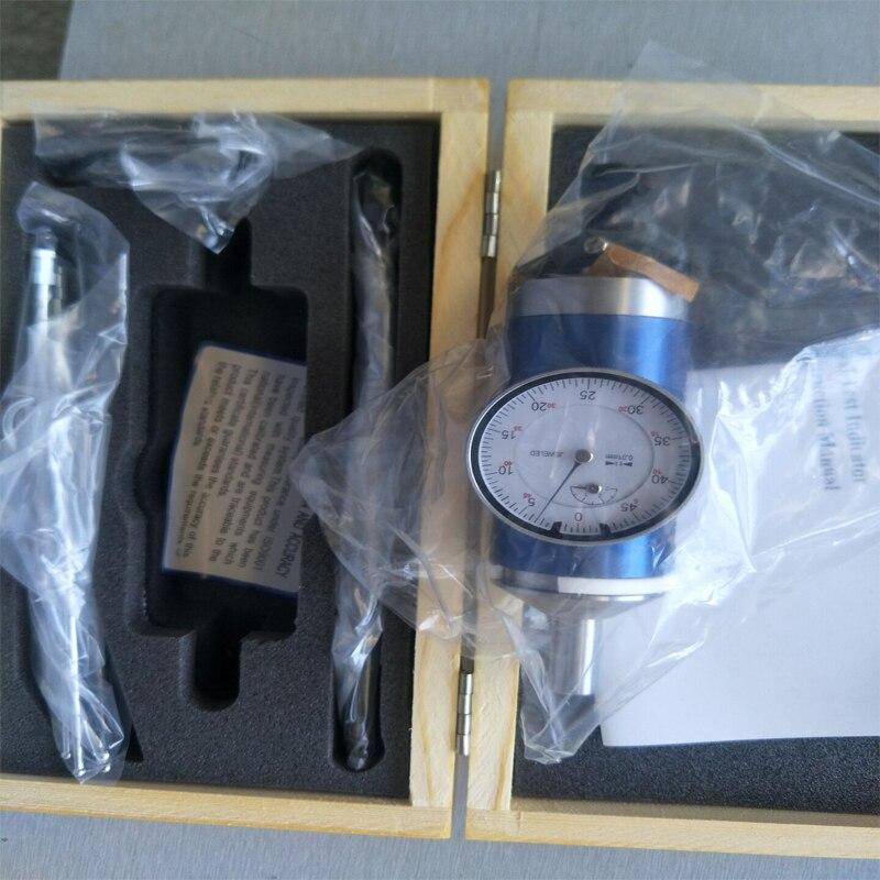 1 компл. коаксиальный центрирования циферблат Тесты индикатор 0-3 мм Центр Finder фрезерный станок 0,01 мм точность с деревянный ящик
