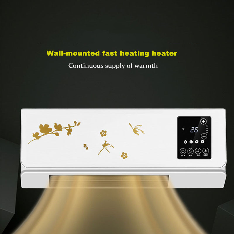 Wall-mounted Movable Small Air Conditioner Heater Home Remote Control Heating And Cooling Machine Bathroom Refrigerator  BO-01