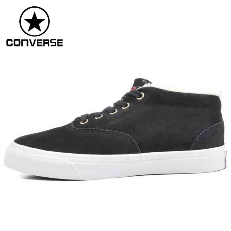 Original Converse Unisex Skateboarding Shoes Leather Sneakers original converse selene monochrome leather women s skateboarding shoes sneakers