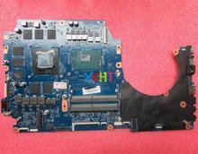 Hp 前兆 17 17 17T AN000 シリーズ 929515 601 929515 001 DAG3BBMBCG0 GTX1070 8 ギガバイト i7 7700HQ ノートパソコンのマザーボードテスト