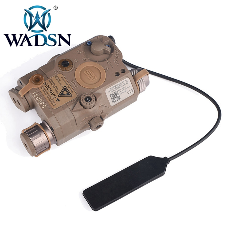 Image 5 - WADSN Airsoft PEQ15 LA 5C AN/PEQ UHP Green and Red Double Laser Flashlight for Hunting Softair LA5 Zero stop WEX450 Weapon Light-in Weapon Lights from Sports & Entertainment