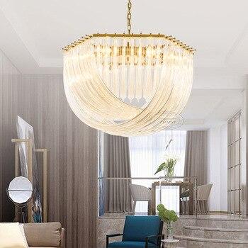 Постельные современные минималистичные потолочные светильники для гостиной, Роскошные роскошные светильники для столовой спальни, креати...