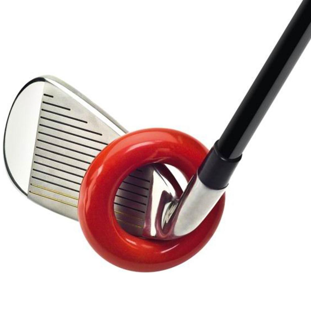 1 Piece Golf Head Driver Club Golf Practice Training Aid Ring Iron 33mm Inner Diameter