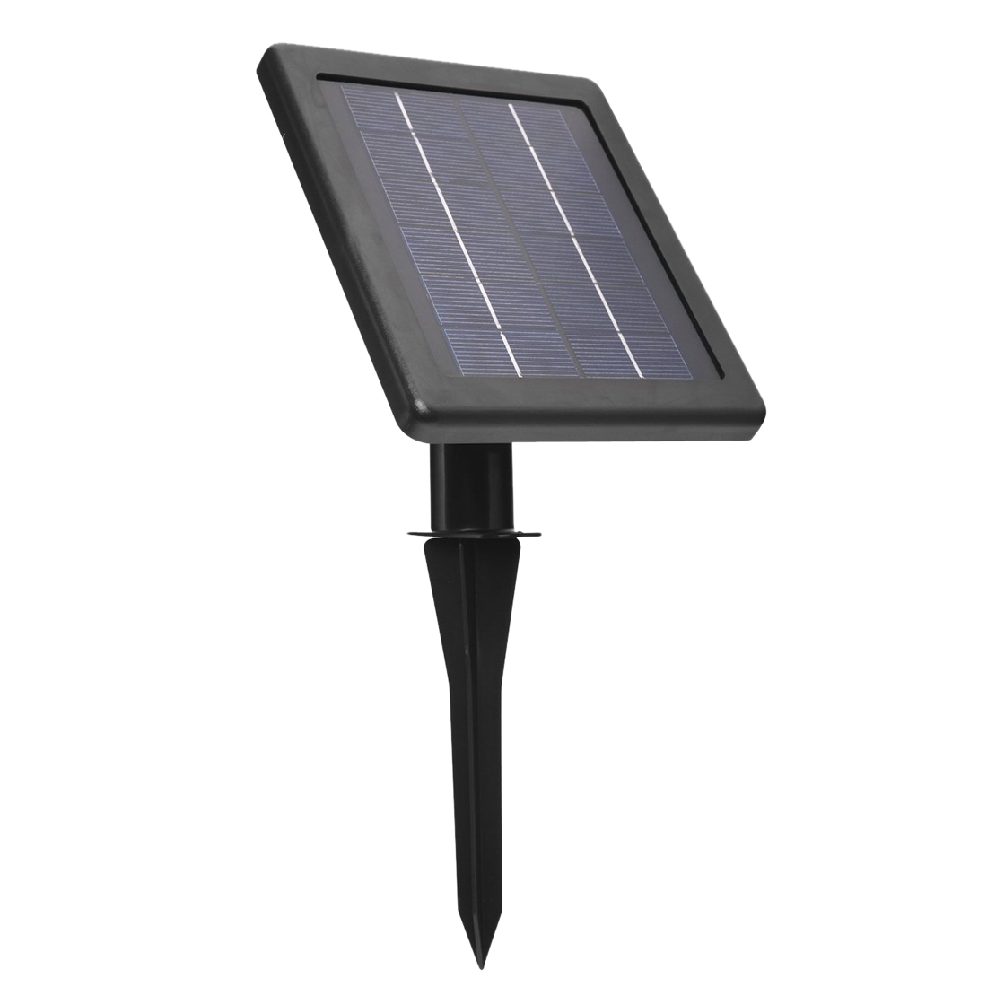Rechargeable Waterproof Solar Powered 30 LED Spot Light White Lamp with Lithium Battery Inside for Lawn, Garden, Hotel, etc. solar battery powered butterfly random color