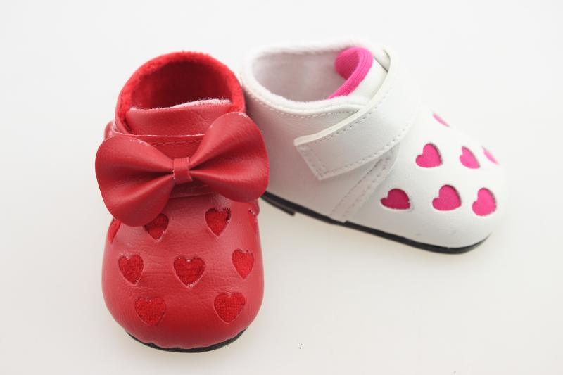 Multicolor Reborn Baby Girl Doll Accessories Fashion Shoes Suitable For Girl 22 Inch 50-55cm Npk Doll Kawaii Shoes For Kids Gift