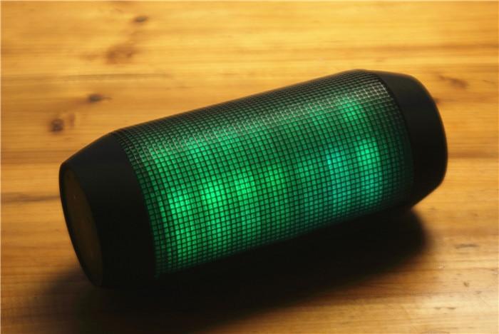 Best Sound LED Flash Lighting Mini Pills Speaker Pulse Portable Wireless Bluetooth Speaker Support NFC for